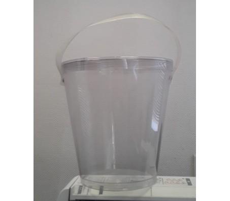 Пластиковое ведро с крышкой, 2.5 л
