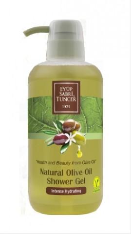 Гель для душа с натуральным оливковым маслом, 600 мл