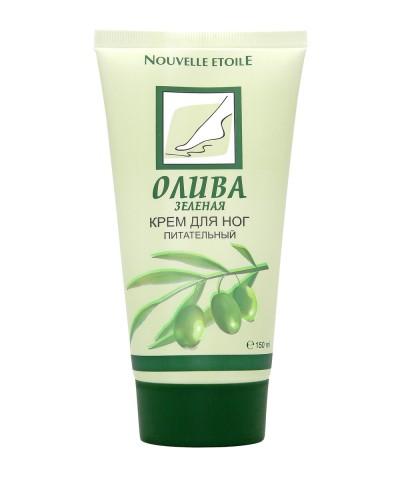 "Крем для ног ""Зеленая олива, 150 мл"