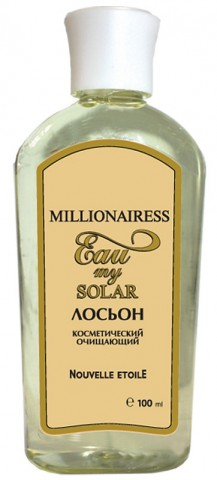 """Лосьон """"Миллионерша.Моя солнечная вода"""", 100 мл"""