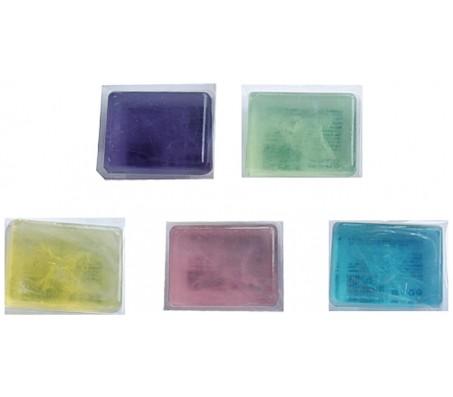 """Мыло туалетное """"Ассорти"""" квадратное (5 цветов)"""