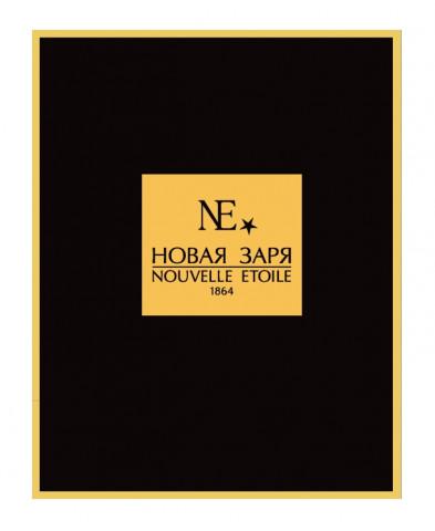 Пакет бумажный ламинированный черного цвета, 220х120х280 мм