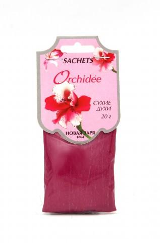 """Сухие духи """"Орхидея"""" на фигурном ярлыке, 20 г"""