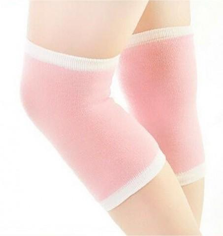 Увлажняющий спа-наколенник с активным гелем (розовый)