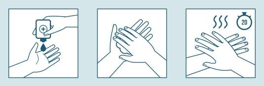 Как пользоваться антисептиком для рук