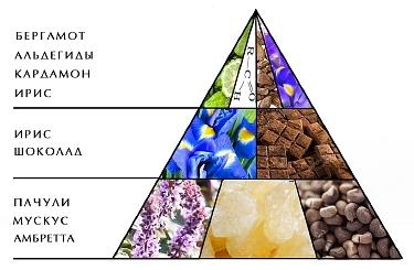 """Пирамида аромата """"Ноктюрн красный"""""""