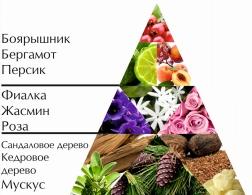 """Пирамида """"Цветочного"""" одеколона"""
