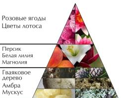 """Духи """"Мое украшение. Розовый"""" пирамида"""